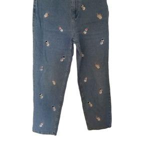 The Quaker Factory Snowman Jeans